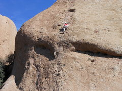 Rock Climbing Photo: Aenea & Hyperion Slab on a glorious spring day.