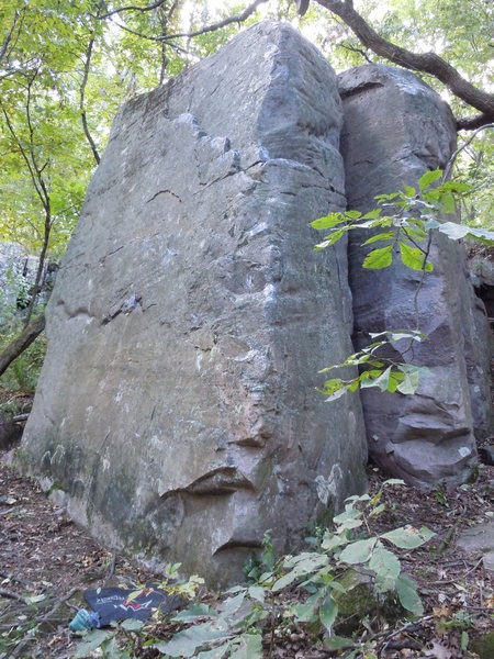 Rock Climbing Photo: Easy, but don't send gumby's up this thing. They'l...