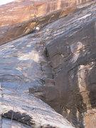 Rock Climbing Photo: Josh 1st pitch Black Widow.