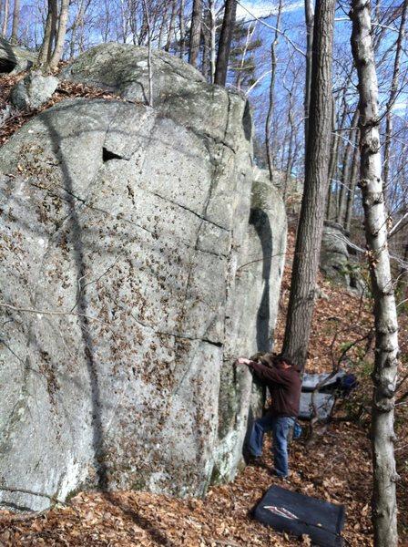 Rock Climbing Photo: Moon Rock - Left side