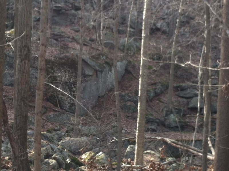 Rock Climbing Photo: Atari Block from afar.