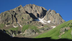 Rock Climbing Photo: The North Face of Mount Sneffels - the North Buttr...