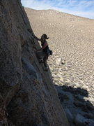 Rock Climbing Photo: Climbing Grape Nuts at the Green Eggs and Ham Crag