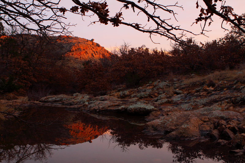 Charons Garden Wilderness Area Sunset.<br> <br> Photo: Ryan Ray