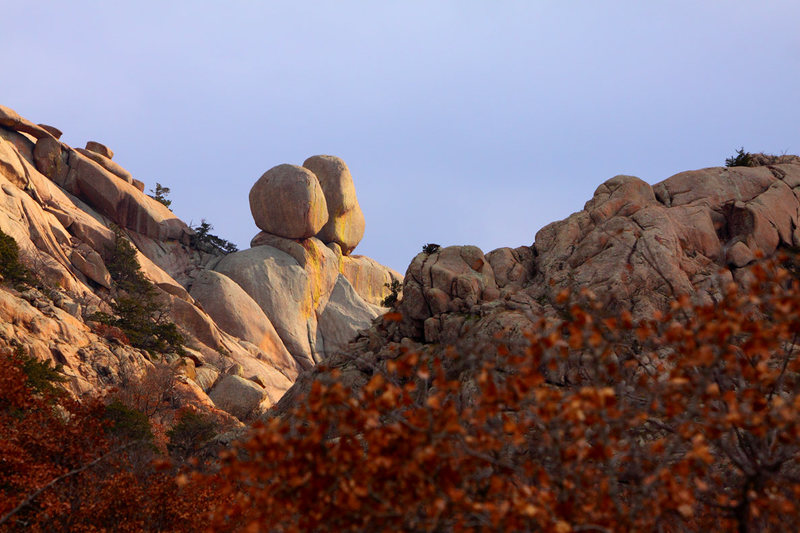 Rock Climbing Photo: Pear and Apple in Charons Garden Wilderness  Photo...