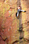 Rock Climbing Photo: Russell Hooper on Tied To A Whipping Post.  Photo:...