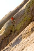 Rock Climbing Photo: Matt King on Moose head  Photo: Ryan Ray