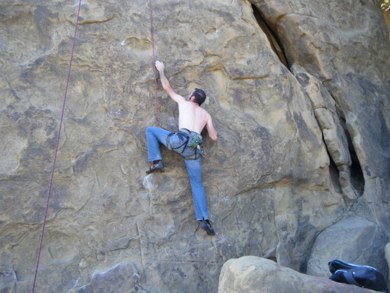 Rock Climbing Photo: Beethoven's Wall