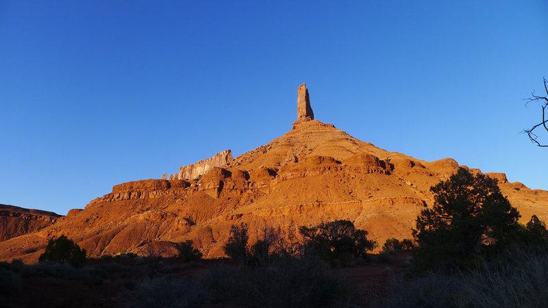 Rock Climbing Photo: parting shot
