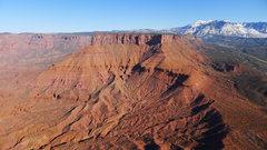Rock Climbing Photo: view toward the La Sals