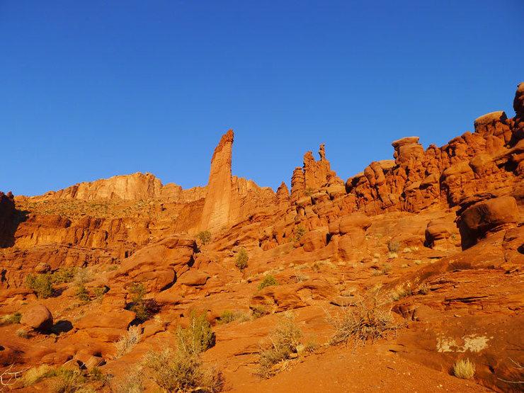 Rock Climbing Photo: evening light