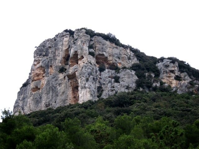 South face of Rocca di Corno