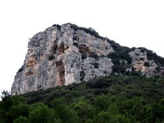 Rock Climbing Photo: South face of Rocca di Corno