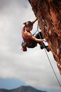 "Rock Climbing Photo: Carolina Fritz-Kelly of Argentina on ""The Gif..."