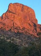 Rock Climbing Photo: The morning light illuminates the goal...  climbph...