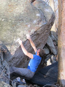 "Rock Climbing Photo: Travis Melin on ""Pythagorean Arête"""