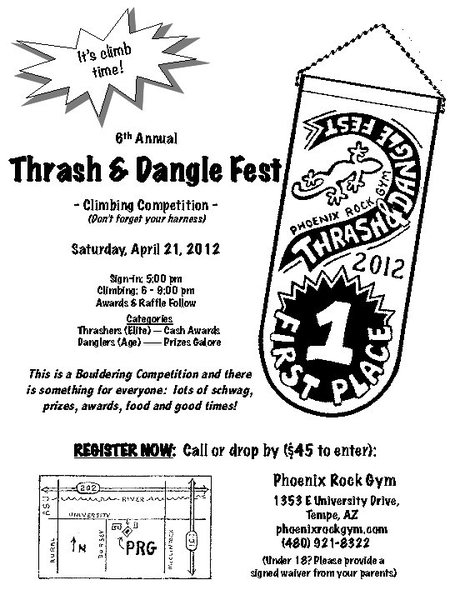 2012 Thrash & Dangle Fest