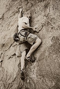 Rock Climbing Photo: Climing in Ogden Canyon.