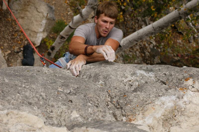 Rock Climbing Photo: Mr.T