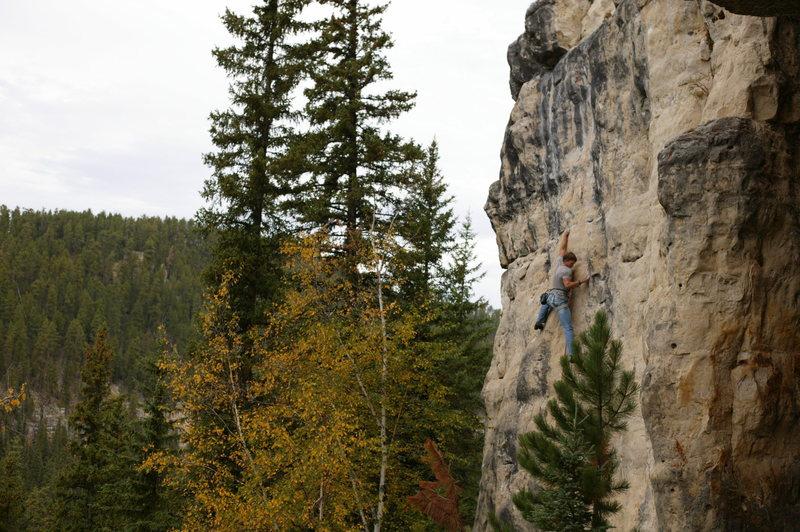 Rock Climbing Photo: Mr. T holding a centaur