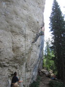 Rock Climbing Photo: Chris Hirsch on the send, it was fun to watch. Can...