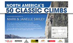 Rock Climbing Photo: Smiley's pursuit of the 50 Classic Climbs.