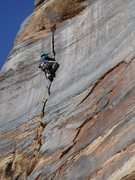 Rock Climbing Photo: FA of the perfect Splitter