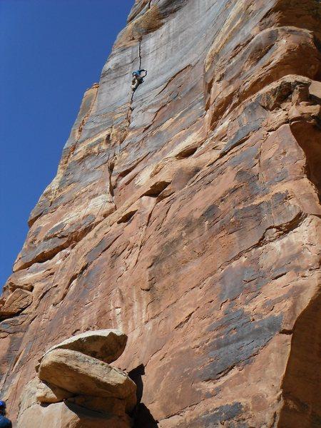 Rock Climbing Photo: More Splitter!