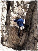 Rock Climbing Photo: A fun start