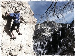 Rock Climbing Photo: Sneaking out on warm winter day