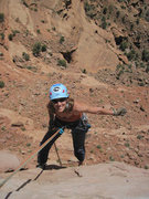 Rock Climbing Photo: Looking hot while on some local chunk of choss
