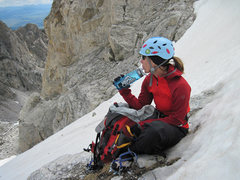 Rock Climbing Photo: Looking hot in the Tetons
