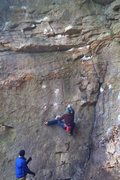 Rock Climbing Photo: the direct start is V5+ ish