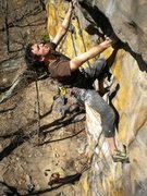 Rock Climbing Photo: Morning Dew 12a, NRG