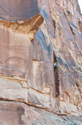"Rock Climbing Photo: FA of ""Shaking the Goat""  Photo by Dan G..."