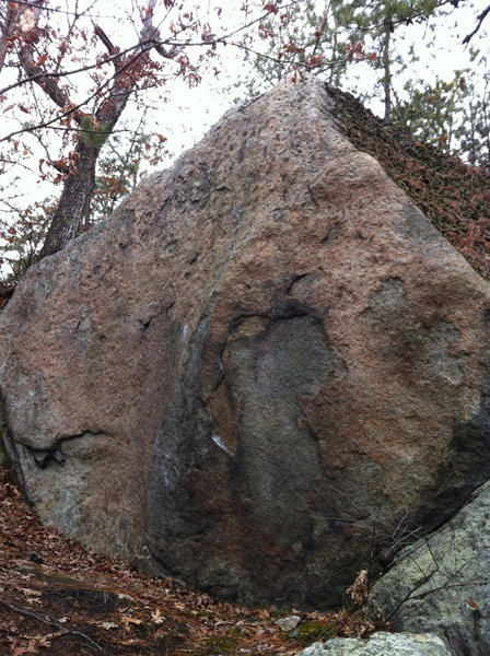 Rock Climbing Photo: Patina Boulder.