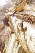Rock Climbing Photo: Zach sending