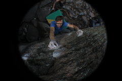 Rock Climbing Photo: Re-Entry Burn.
