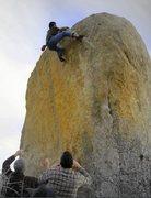 Rock Climbing Photo: white rasta