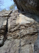 Rock Climbing Photo: Great 5.6 with all the different kinds of rock to ...