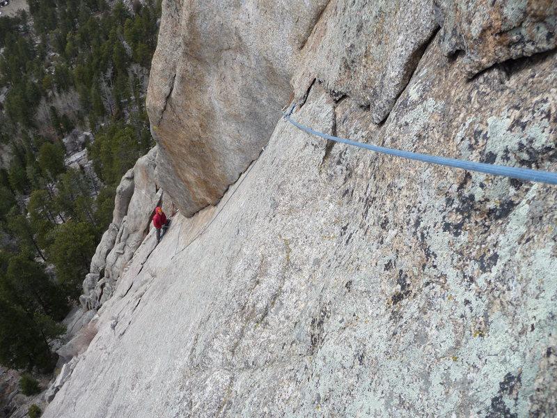 Rock Climbing Photo: Variation