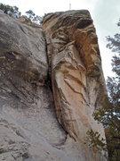 Rock Climbing Photo: Turnaround viewed from the base.