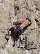 "Rock Climbing Photo: Sam Schmetzer sending ""Diluted"""