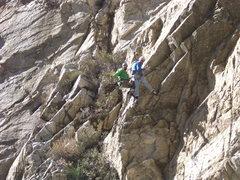 Rock Climbing Photo: a fun finish