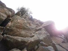 Rock Climbing Photo: Yee haw!!