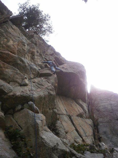Rock Climbing Photo: Hoo-doggy.