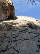 Rock Climbing Photo: As a note of caution, there is a death block (+/- ...