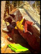 Rock Climbing Photo: The arrow