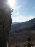 Rock Climbing Photo: Mike Holley A Daze'd on Edge of a Dream!
