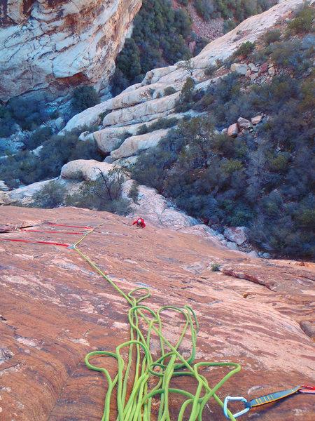 Rock Climbing Photo: Adventure punks pitch 1
